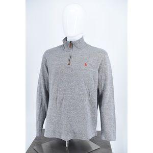 Ralph Lauren men's extra-large 1/4 zip pullover